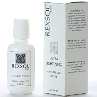 REXSOL Ultra Lightening Alpha Arbutin Serum | With Vitamin C