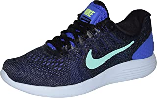 Womens Lunarglide 8 Running Shoe (Persian Violet/Green Glow, 6.5 B(M) US)