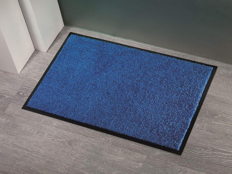 Fußmatte Sauberlauf Power Tex Tex Tex Uni Blau in 6 Größen B071WR7X86 0cf7ab