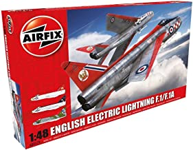 Airfix A09179 English Electric Lightning F1/F1A/F2/F3 1:48 Military Aircraft Plastic Model Kit