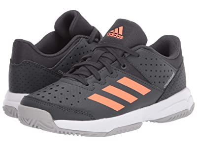 adidas Kids Court Stabil Volleyball (Little Kid/Big Kid) (Grey/Signal Coral/Grey) Kid