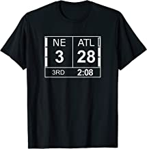 NE 3 ATL Atlanta 28 Comeback Final 2 Sides Shirt