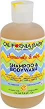 product image for California Baby Chamomile and Mint Shampoo and Body Wash - Hair, Face, and Body | Gentle, Allergy Tested | Dry, Sensitive Skin, (8.5oz)