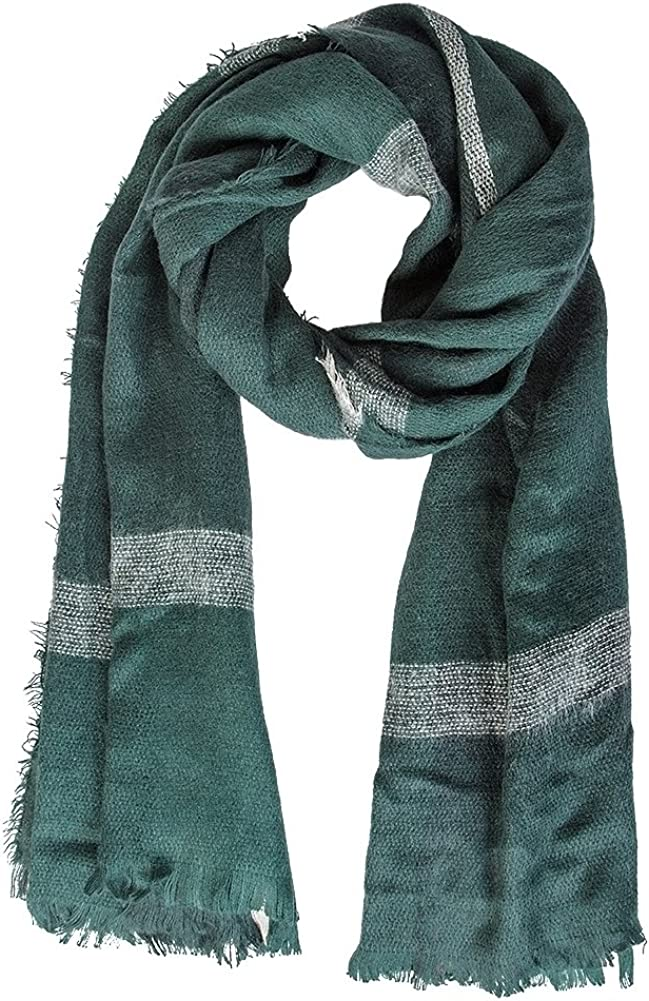 Natural Feelings Fashionable Cozy Soft Scarf Grid Wra Big Winter Online limited product Finally popular brand
