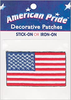 American Pride Decorative Patches-Large American Flag