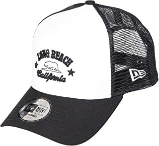 New Era Long Beach White A Frame Trucker Cap