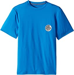 Rip Curl Kids - Aggrolite Short Sleeve Loose Fit (Big Kids)