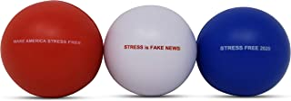Amy & Delle Stress Ball`s - Hand Therapy, Excercise - Stress Reliever - 3 Pack with Funny, Quips - Hand Strengthener, Anxiety & Tension Reducer- Squishy, Soft but, Firm - for All Ages
