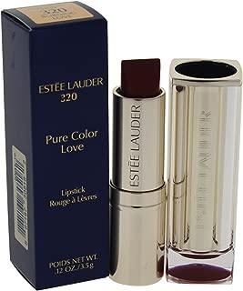Estee Lauder Pure Color Love Lipstick, Burning Love, 0.12 Ounce