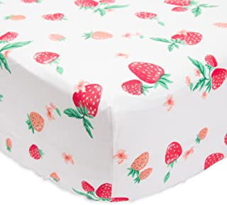 Best strawberry crib sheet Reviews