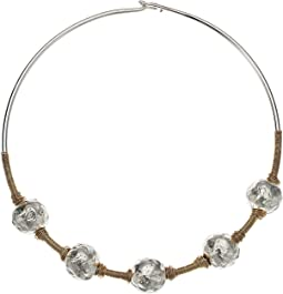 Robert Lee Morris - Sculptural Bead Wire Collar Necklace