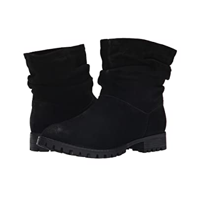 Chinese Laundry Flip Slouch Bootie (Black Burnished) Women