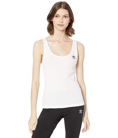 adidas Originals adiColor Tank Top (White/Black) Women