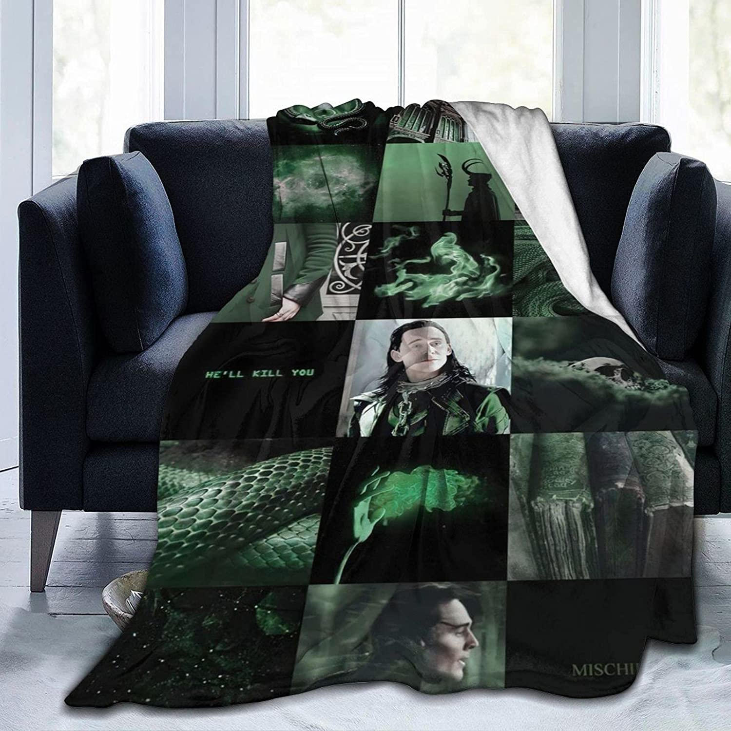 LO-KI Blankets Super Soft Plush Throw L Blanket Bedding Limited time sale Sofa for Super special price
