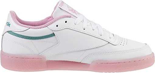 White/Green Slate/Jasmine Pink