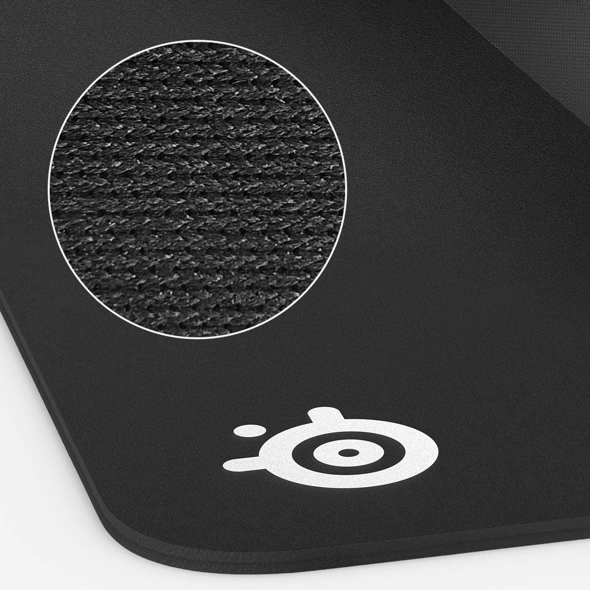 XXL Thick Cloth Maximum Control SteelSeries QcK Gaming Surface Best Selling Mouse Pad of All Time Black Sized to Cover Desks