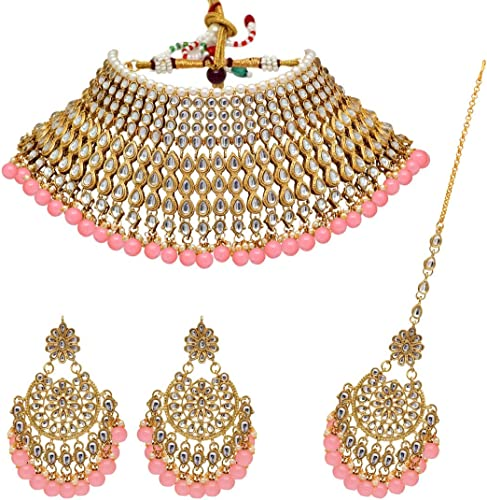Jewellery Set For Women Peach KN221PCH