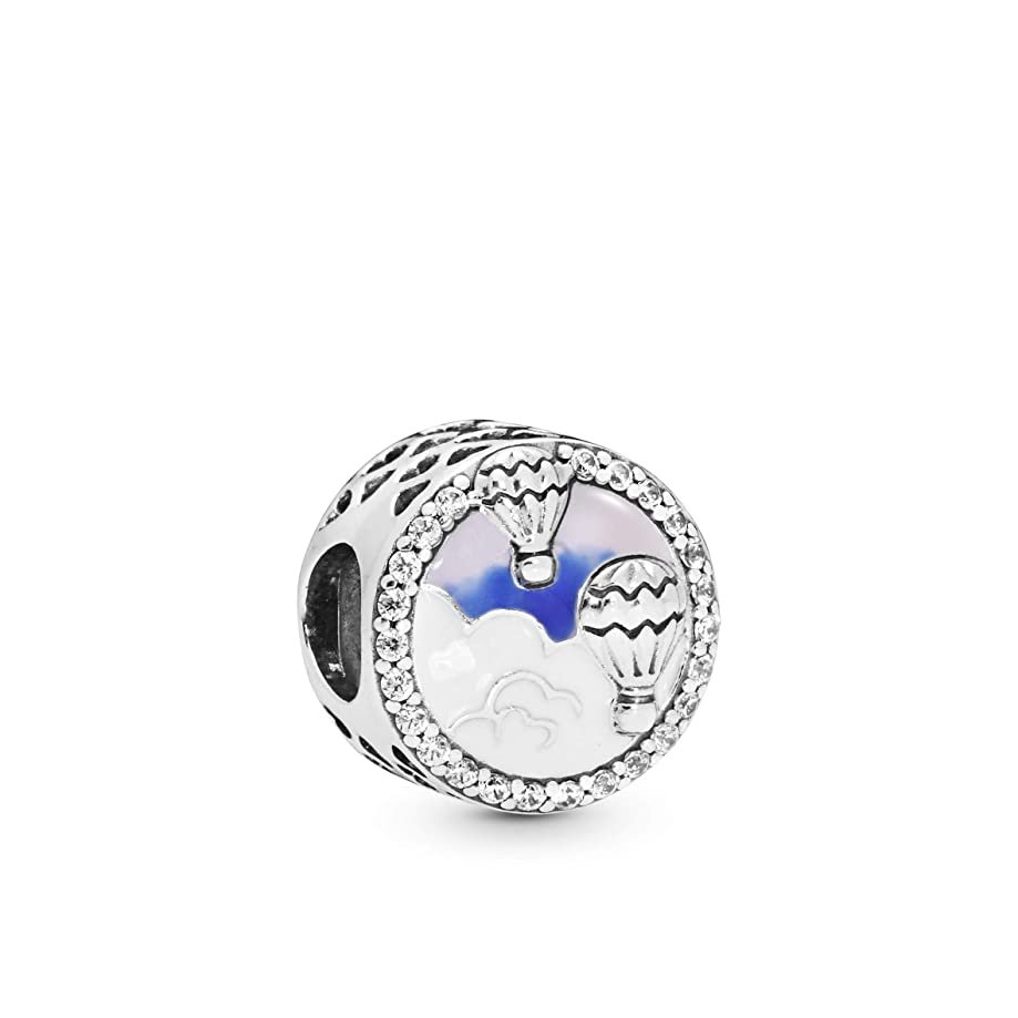 PANDORA Hot Air Balloon Trip 925 Sterling Silver Charm - 798061CZ