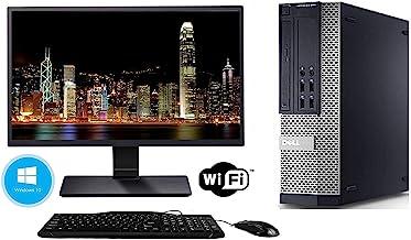 Dell Optiplex 990 Desktop Computer Package - Intel Quad Core i5 3.1-GHz, 16GB RAM, 2 TB, DVD-RW Drive, 20 Inch LCD Monito...