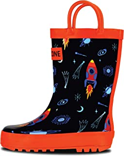 LONECONE Rain Boots with Easy-On Handles in Fun Patterns...