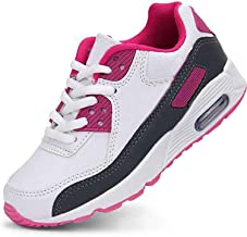 Daclay Kids Breathable Sports Shoes Boys and Girls Sneakers Casual Soft Soled Basketball Running Shoes