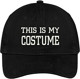 Trendy Apparel Shop This is My Costume Embroidered Dad Hat Adjustable Cotton Baseball Cap