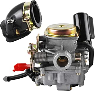 18 mm scooter carburateur en aanzuigaansluiting voor Rex RS 400/RS 450/RS 460/GY6 50cc/GY6 60cc