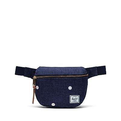Herschel Supply Co. Fifteen (Polka Dot Crosshatch Peacoat) Bags
