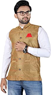 Amzira Nehru Jacket Sleeveless Modi Jackets/waistcoats set Ethnic Men's Wear
