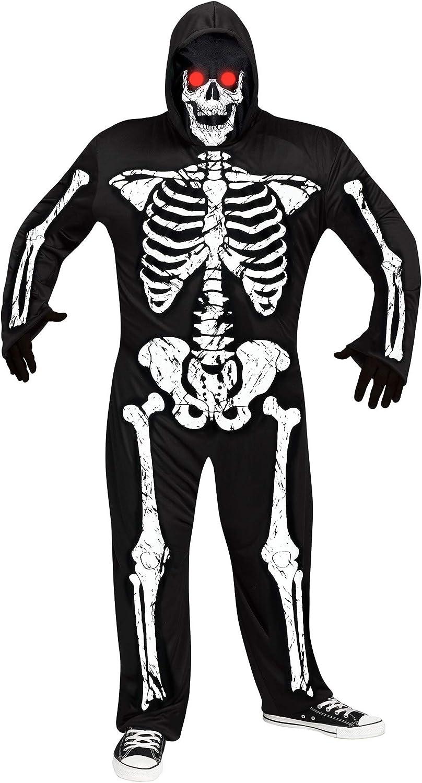 Fun World NEW before selling Ranking TOP2 Men's Plus Size Fade Phantom Mul Skeleton Costume Eye