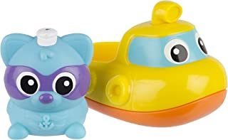 Playgro Rainy Raccoon's Musical Submarine Toy, Multi,
