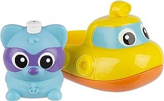 Playgro Rainy Raccoon's Musical Submarine Toy, Multi,