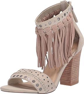 Sbicca Women's Bountiful Heeled Sandal, Beige, 7