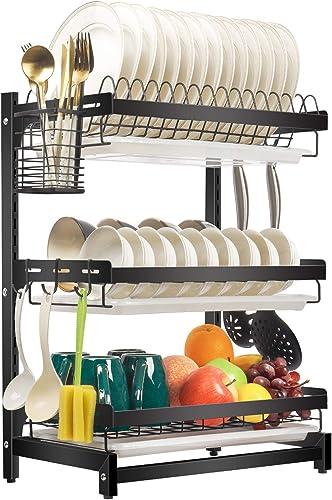 X-cosrack-Dish-Drying-Rack-Stainless-Steel-Dish-Drainer