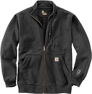 Carhartt Men's Rain Defender Loose Fit Heavyweight Full-Zip Mock-Neck Sweatshirt