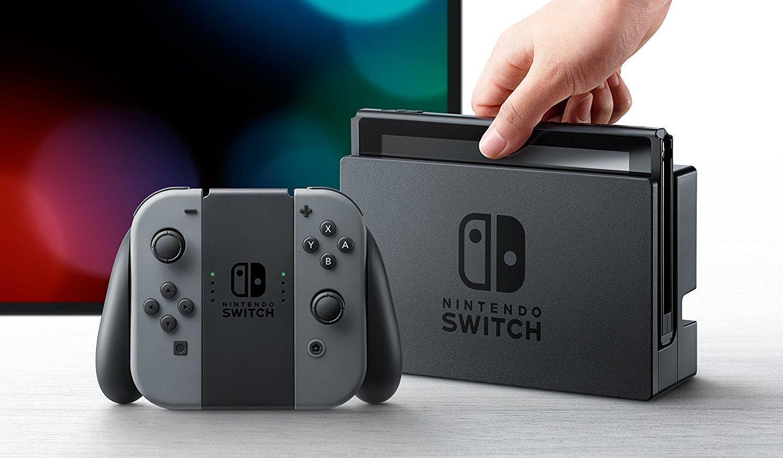 Nintendo Switch - Consola Color Gris + 1-2 Switch: Amazon.es: Videojuegos
