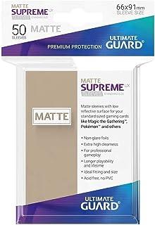 Ultimate Guard - Sleeves: Supreme UX Standard Size Matte Sand (50)