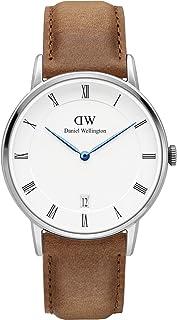 ダニエル ウェリントン DANIEL WELLINGTON 腕時計 DW00100114 シルバー 34mm DAPPER DURHAM ダッパー ダーハム [並行輸入品]