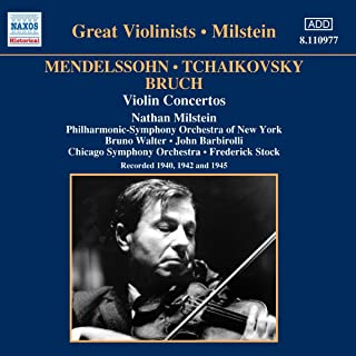 Conciertos Violin (Milstein 1940)