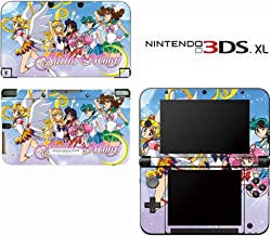 Sailor Moon Pretty Guardian Decorative Video Game Decal Cover Skin Protector for Nintendo 3DS XL