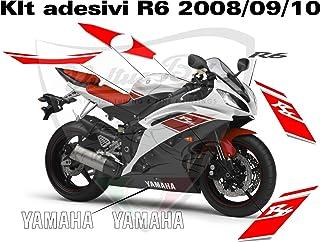Kit Pegatinas Yamaha R62008/09/10rojos