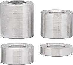 Casquillos distanciadores de acero inoxidable 4 unidades