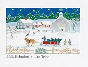 Bringing in The Tree Advent Calendar By Anne Kilham