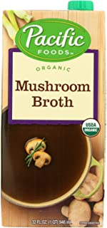 Pacific Foods Organic Mushroom Broth, 32 Ounce - 12 per case.