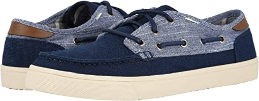 Navy Heritage Canvas/Rugged Chambray Mix