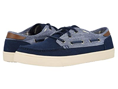 TOMS Dorado (Navy Heritage Canvas/Rugged Chambray Mix) Men