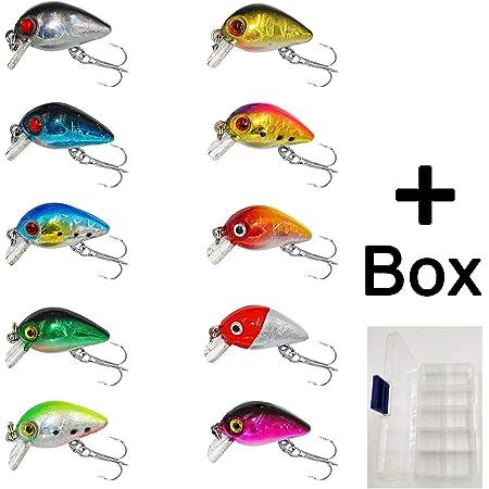 4 Mini Snap für Kunstköder und Streamer Spinnfischen Blinker Spinner Wobbler