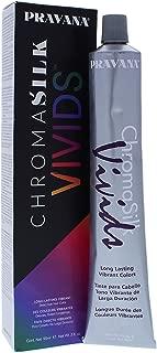 Pravana Chromasilk Vivids Long-lasting Vibrant Color - Silver By Pravana for Unisex - 3 Ounce Hair Color, 3 Ounce