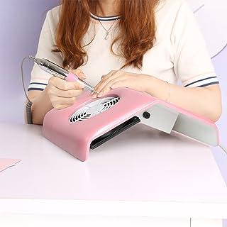 Vinteky® Elegante y Práctico Aspirador Profesional de mesa para Uñas Manicura Nail Art Reconstrucción Polvo colector de succión para uñas Ideal para esteticistas y en salones de belleza