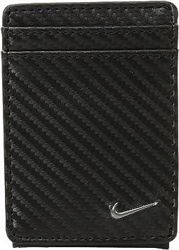 Carbon Fiber Texture Front Pocket Wallet